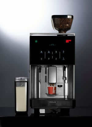 Coffee Machine with Touch Screen