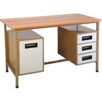 Flat And Rectangular Writing Table