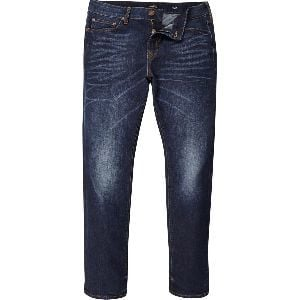 Blue Color Washed Regular Fit Mens Jeans for Daily, Casual and Party Wear