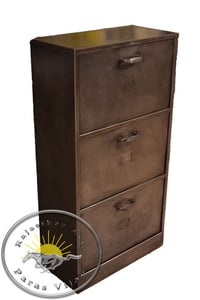 Durable Wooden Iron Drawer