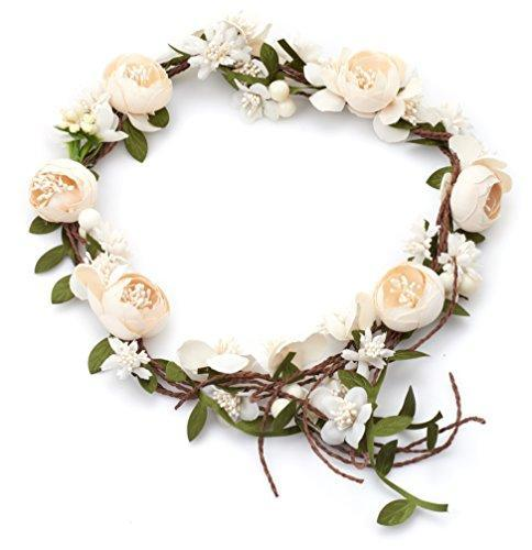 Vintage Flower Hair Vine Flower Crown Tiaras