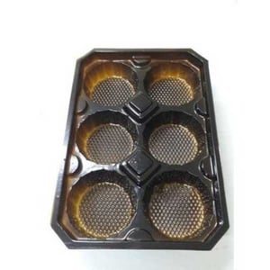 6 Compartment Cupcake Packaging Tray