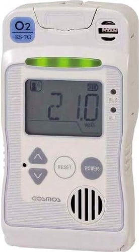 Oxygen Monitor and Alarm Portable/Fixed Dual Type