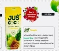 Coconut Water With Pineapple Flavor