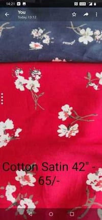 Printed Cotton Dyed Fabric