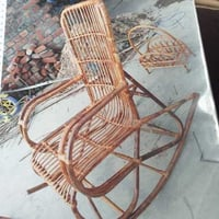 Outdoor Cane Rocking Chair