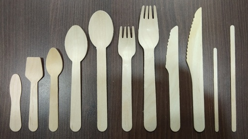 Wooden Spoon Fork Knife And Stirrer