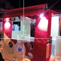 Customized Commercial Food Vehicle