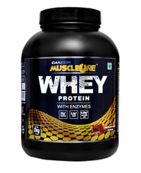Whey Protein Concentrate 2 KG., 4.4 LB. Chocolate Fudge
