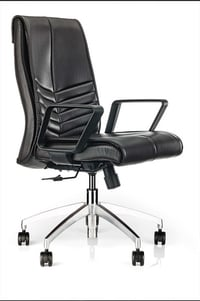 Minister Quilted Design Q5 Series Medium Back Revolving Office Chair