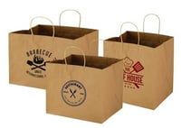 Brown Color Paper Carry Bags