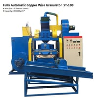 Fully Automatic Copper Wire Granulator Machine