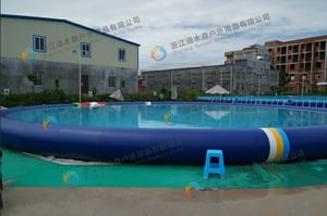 Inflatable Amusement Water Pool