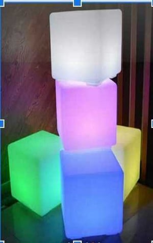 Wireless Led Cubes