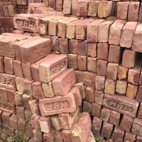 Red Color Clay Bricks for Constructions