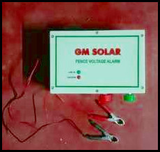 High Performance Solar Fencing Alarm