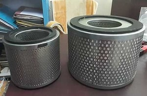 Round Shape Air Oil Filter