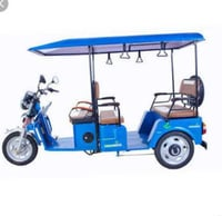 E - Rickshaw With Battery, Charger