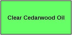 Clear Cedarwood Oil