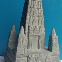 Crafted Stone Bodhi Temple
