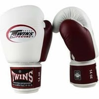 Genuine Leather Kickboxing Gloves