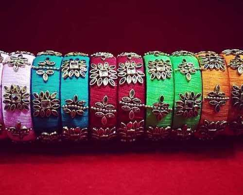 Metal Based Thread Bangles