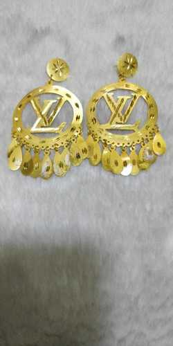 Antique Earrings Yellow