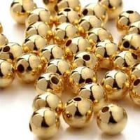 Decorative Gold Plated Beads
