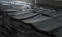 Natural Black Industrial Rubber