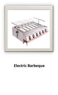 High Performance Electric Barbeque