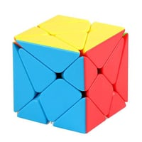 Multi Color Textured Cube