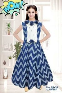 Partywear Gown For Girls