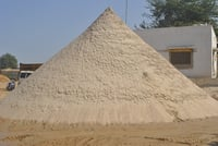 Washed Wet And Dry Silica Sand