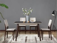 Attractive Wooden Dining Table Set