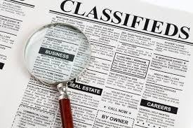 Classified Newpaper Advertising Services