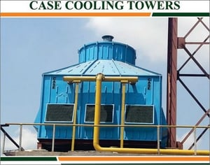 Industrial Case FRP Cooling Towers