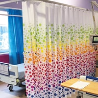 Antimicrobial And Sporicidal Disposable Curtains