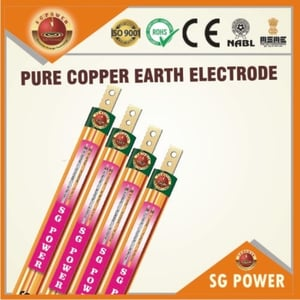 Pure Copper Earth Electrode