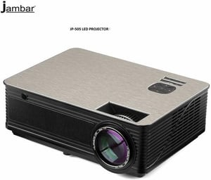 Jambar Jp-505 Non Android Full Hd 4000 Lumens Led Projector