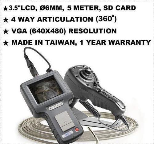 4 Way Articulating VGA Inspection Video Borescope (NDT JFVS-60054)