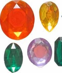 Attractive Look Synthetic Gemstone