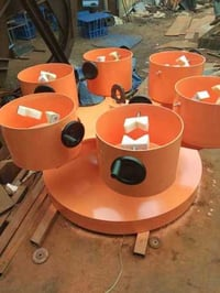 Electric Round Rotating Fixture
