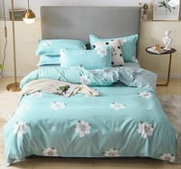 A Four Piece Set Of Pure Cotton Worsted And Thickened Bedding