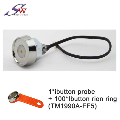 Ibutton for Fleet management IOT GPS Tracker Access control  Magnetic iButton Reader