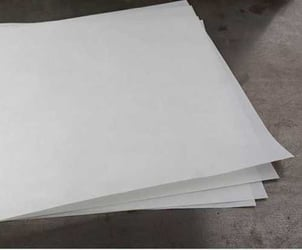 White Silicone Coated Paper