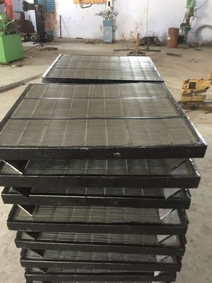 Wedge Wire Screen With Stainless Steel