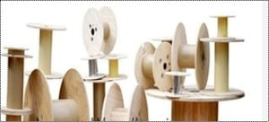 Plywood Cable Drum Reel