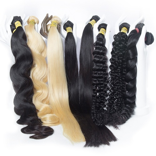 Indian And Brazilian Human Hair Wigs