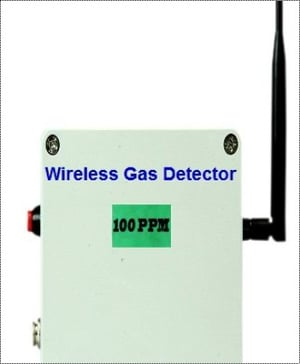 Movable Wireless Gas Detector