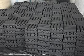 Black Color Briquette Charcoal